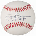"Autographs:Baseballs, 2000s Tony Gwynn "".394/94"" Single Signed Baseball...."