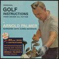 Golf Collectibles:Books/Magazines, c. 1960s Arnold Palmer Golf Instructions Two-Record Album....