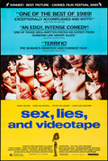 "Movie Posters:Drama, Sex, Lies and Videotape & Other Lot (Miramax, 1989). Rolled, Very Fine+. One Sheets (3) (27"" X 40"", 27"" X 41"", & 26.75"" X 39... (Total: 3 Items)"