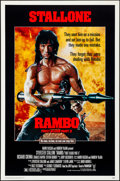 """Movie Posters:Action, Rambo: First Blood Part II & Other Lot (Tri-Star, 1985).Rolled, Very Fine+. One Sheets (2) (27"""" X 41"""" & 27"""" X 40"""") S..."""