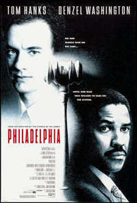 "Philadelphia & Other Lot (Tri-Star, 1993). Rolled, Very Fine. One Sheets (2) (26.75"" X 39.75"" & 27&quo..."