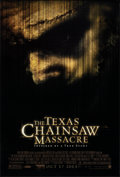 """Movie Posters:Horror, The Texas Chainsaw Massacre & Other Lot (New Line, 2003).Rolled, Very Fine+. One Sheets (2) (27"""" X 40"""" & 26.75"""" X39.75"""") S... (Total: 2 Items)"""