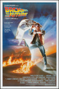 "Movie Posters:Science Fiction, Back to the Future (Universal, 1985). Folded, Very Fine/Near Mint.One Sheet (27"" X 41""). Drew Struzan Artwork. Scien..."