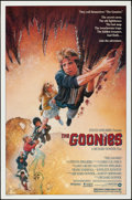 "Movie Posters:Adventure, The Goonies (Warner Brothers, 1985). Rolled, Very Fine+. One Sheet (27"" X 41""). Drew Struzan Artwork. Adventure.. ..."