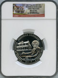 Modern Bullion Coins, 2017 25C Frederick Douglass National Park Five-Ounce Silver, First Strike, MS69 Deep Mirror Prooflike NGC. NGC Census: (0/0...