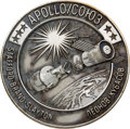 Explorers:Space Exploration, Apollo-Soyuz Test Project Unflown Silver Robbins Medallion, Serial Number 267, Directly from the Family Collection of Astronau...