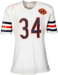 1983 Walter Payton Game Worn & Signed Chicago Bears Jersey--Photo Matched!