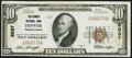 National Bank Notes:Pennsylvania, Denver, PA - $10 1929 Ty. 1 The Denver NB Ch. # 6037 Very Fine-Extremely Fine.. ...