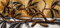 Paintings, David Bates (American, b. 1952). Pine Branch, 1990. Oil on canvas. 40 x 86 inches (101.6 x 218.4 cm). Signed, dated, and...