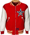 Baseball Collectibles:Others, Circa 1957 Don Rowe Game Worn Hollywood Stars Jacket. ...