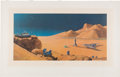 """Explorers:Space Exploration, Chesley Bonestell Signed """"The Exploration of Mars"""" Lithograph...."""