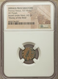 Ancients:Ancient Lots  , Ancients: ANCIENT LOTS. Judaea. Roman Procurators. Porcius Festus(AD 59-62). Lot of ten (10) AE prutahs. NGC Money of the Bible....(Total: 10 coins)