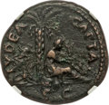 Ancients:Roman Imperial, Ancients: Vespasian (AD 69-79). AE as (27mm, 11.50 gm, 6h). NGCChoice VF 5/5 - 3/5....