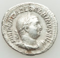 Ancients:Roman Imperial, Ancients: Balbinus (AD 238). AR denarius (19mm, 3.03 gm, 6h).VF....