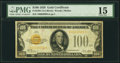 Small Size:Gold Certificates, Fr. 2405 $100 1928 Gold Certificate. PMG Choice Fine 15.. ...