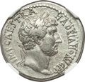 Ancients:Roman Imperial, Ancients: Hadrian (AD 117-138). AR cistophorus (27mm, 10.29 gm, 7h). NGC XF 5/5 - 3/5, Fine Style....