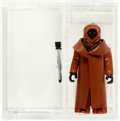 Memorabilia:Science Fiction, Star Wars - Jawa (Vinyl Cape) Loose Action Figure (Kenner, 1977) AFA 85 NM+....
