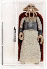 Star Wars - Lili Ledy Squid Head Burgundy Cape Loose Action Figure (Kenner, 1983) AFA 90 NM+/MT