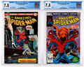 Modern Age (1980-Present):Superhero, The Amazing Spider-Man #144 and 238 CGC-Graded Group (Marvel,1975-83) CGC VF- 7.5....