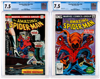 The Amazing Spider-Man #144 and 238 CGC-Graded Group (Marvel, 1975-83) CGC VF- 7.5