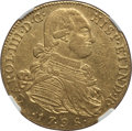 Colombia, Colombia: Charles IV gold 8 Escudos 1798 NR-JJ AU53 NGC,...