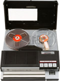 Explorers:Space Exploration, Neil Armstrong's Telefunken Magnetophon 300 TS Portable Reel to Reel Tape Recorder Outfit, circa 1968-1972, in Original Box, D...