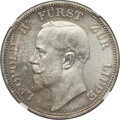 German States:Lippe-Detmold, German States: Lippe-Detmold. Leopold IV 3 Mark 1913-A MS62 NGC,...