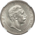 German States:Prussia, German States: Prussia. Wilhelm II 5 Mark 1888-A MS61 NGC,...