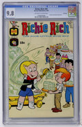 Silver Age (1956-1969):Humor, Richie Rich #84 File Copy (Harvey, 1969) CGC NM/MT 9.8 Off-white to white pages....