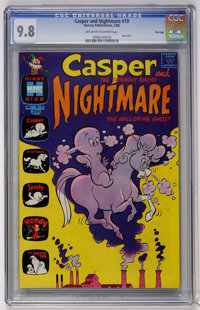Casper and Nightmare #19 File Copy (Harvey, 1968) CGC NM/MT 9.8 Off-white to white pages