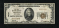 National Bank Notes:West Virginia, Piedmont, WV - $20 1929 Ty. 1 The First NB Ch. # 3629. ...