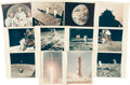 "Explorers:Space Exploration, Apollo 11: Collection of Twelve Original NASA ""Red Number"" Color Photos. ..."