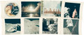 "Explorers:Space Exploration, Apollo 17: Collection of Eight Original NASA ""Red Number"" Color Photos...."