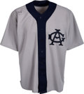 Baseball Collectibles:Uniforms, 1999 Frank Thomas Game Worn & Signed Chicago White Sox Throwback Uniform. ...
