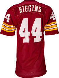 new arrival c55f3 a2137 1976-77 John Riggins Game Worn Washington Redskins Jersey ...