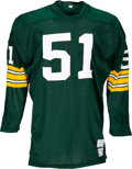 Football Collectibles:Uniforms, Circa 1972 Larry Hefner Game Worn Green Bay Packers Jersey. ...