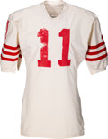 Football Collectibles:Uniforms, Early 1970's Steve Spurrier Game Worn San Francisco 49ers Jersey....