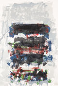 Works on Paper:Contemporary, Joan Mitchell (1926-1992). Champs (Fields) (from the Carnegie Hall Centennial Fine Art portfolio), 1990. Lithograph ...