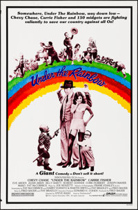 "Under the Rainbow & Other Lot (Orion, 1981). Rolled, Very Fine-. One Sheets (3) (27"" X 41"", 27"" X..."