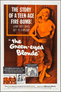"""Movie Posters:Bad Girl, The Green-Eyed Blonde (Warner Brothers, 1957). Folded, Very Fine. One Sheet (27"""" X 41""""). Bad Girl.. ..."""