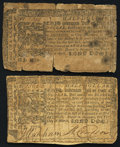 Colonial Notes:Maryland, Maryland March 1, 1770 $1/2;. Maryland April 10, 1774 $1/2.. Good-Very Good.. ... (Total: 2 notes)