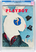 Magazines:Miscellaneous, Playboy #5 (HMH Publishing, 1954) CGC VF/NM 9.0 Off-white to white pages....