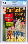 Silver Age (1956-1969):Superhero, Fantastic Four #29 (Marvel, 1964) CGC NM 9.4 Off-white pages....