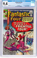 Silver Age (1956-1969):Superhero, Fantastic Four #36 (Marvel, 1965) CGC NM 9.4 Off-white pages....