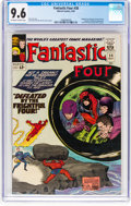 Silver Age (1956-1969):Superhero, Fantastic Four #38 (Marvel, 1965) CGC NM+ 9.6 Off-white to white pages....