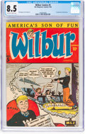 Golden Age (1938-1955):Humor, Wilbur Comics #5 (Archie, 1945) CGC VF+ 8.5 Off-white to whitepages....