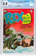 Golden Age (1938-1955):Miscellaneous, Adventures of Rex the Wonder Dog #13 (DC, 1952) CGC VF 8.0 Off-white to white pages....