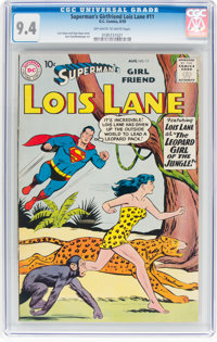 Superman's Girlfriend Lois Lane #11 (DC, 1959) CGC NM 9.4 Off-white to white pages