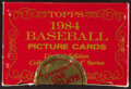 Baseball Cards:Sets, 1984 Topps Traded Tiffany Complete Set (132)....