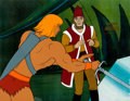 Animation Art:Production Cel, He-Man and the Masters of the Universe